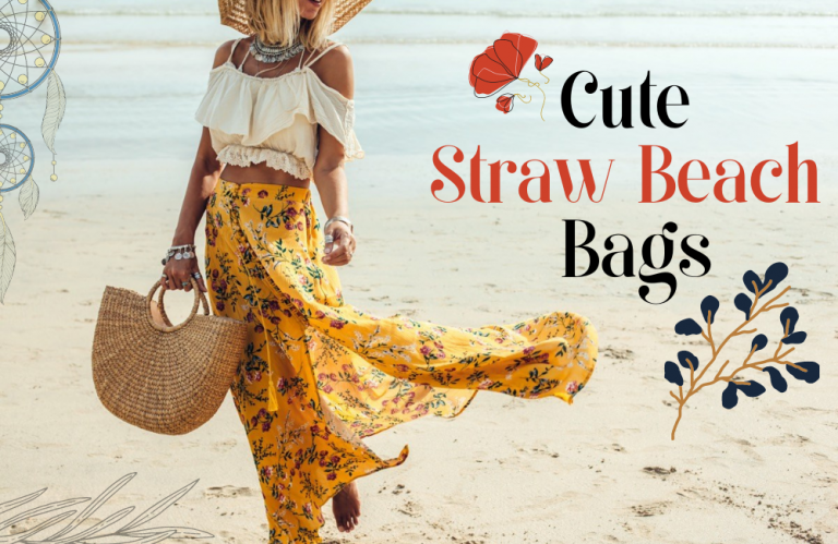 Cute Straw Beach Bags