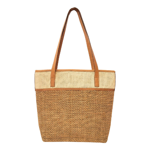 Ethnocraft Handmade Woven roots Tote bag