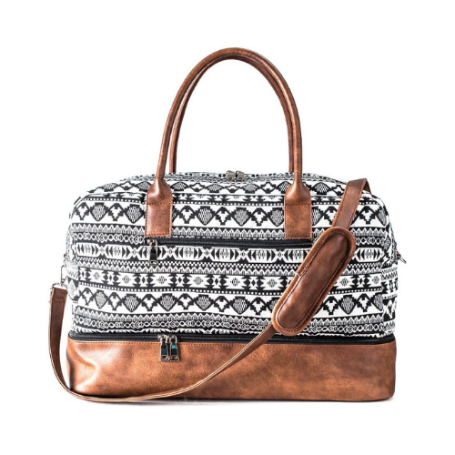 MyMealivos Weekender Bag with Shoe Pouch