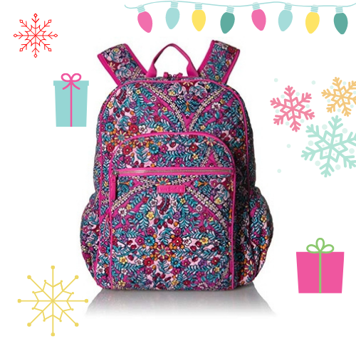 Vera Bradley Signature Cotton Campus Women's Backpack - Kaleidoscope