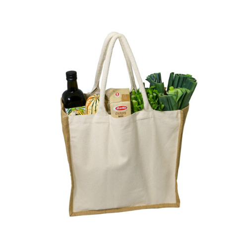 Tote bag for shopping and grocery