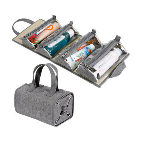 Travel Makeup and Toiletries' Organizers